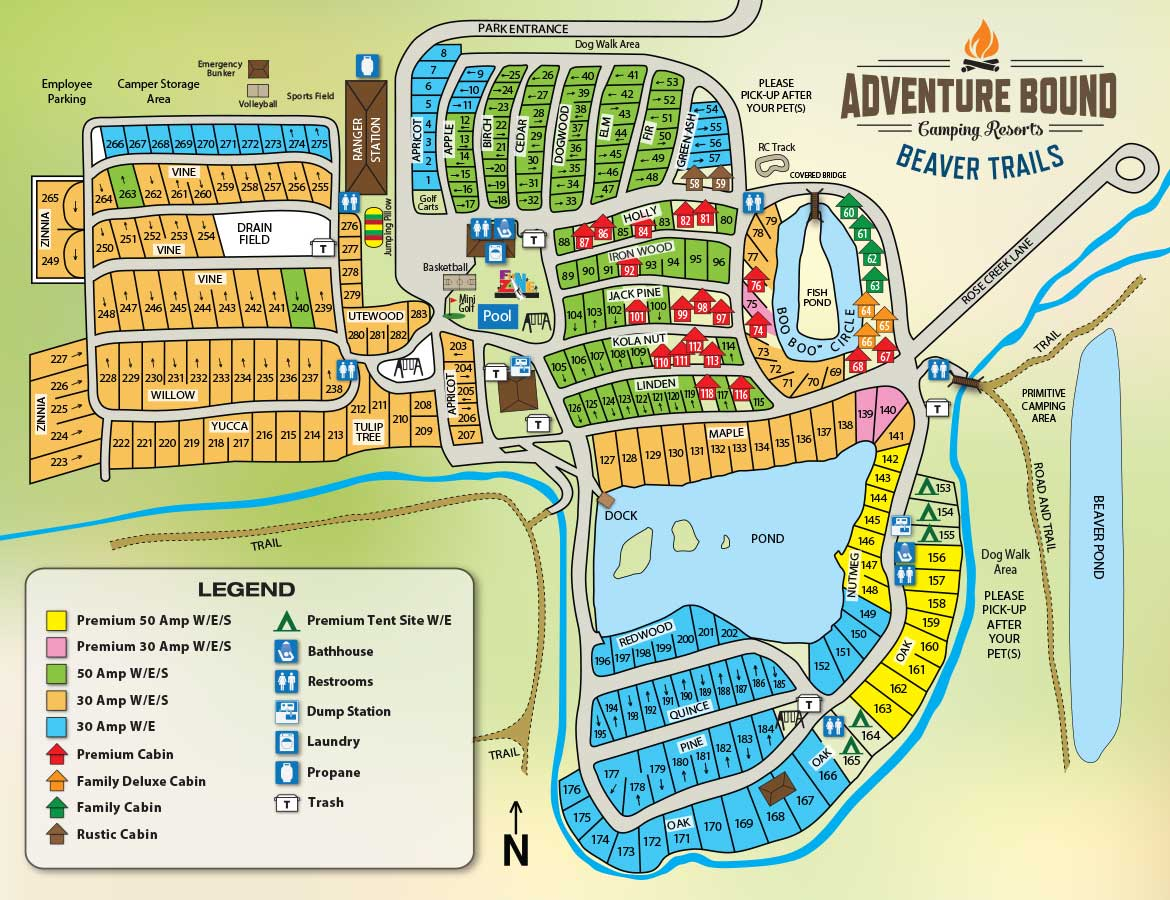 Adventure Bound Camping Resorts - Beaver Trails | Austin ...